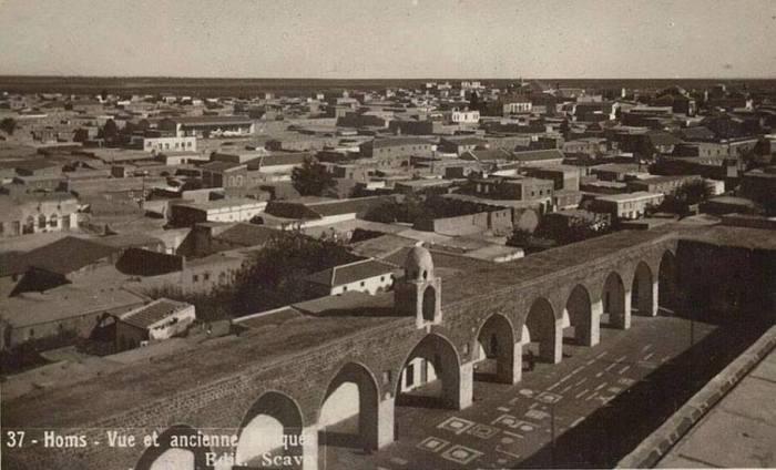 الجامع النوري الكبير بحمص في بداية القرن الماضي