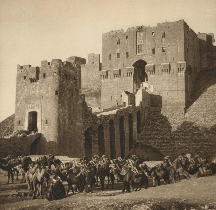 قلعة حلب عام 1925